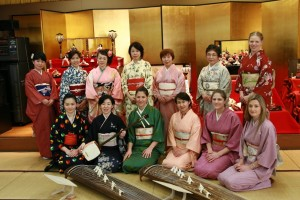 Girls day 3rd March event with Koto Japanese instrument