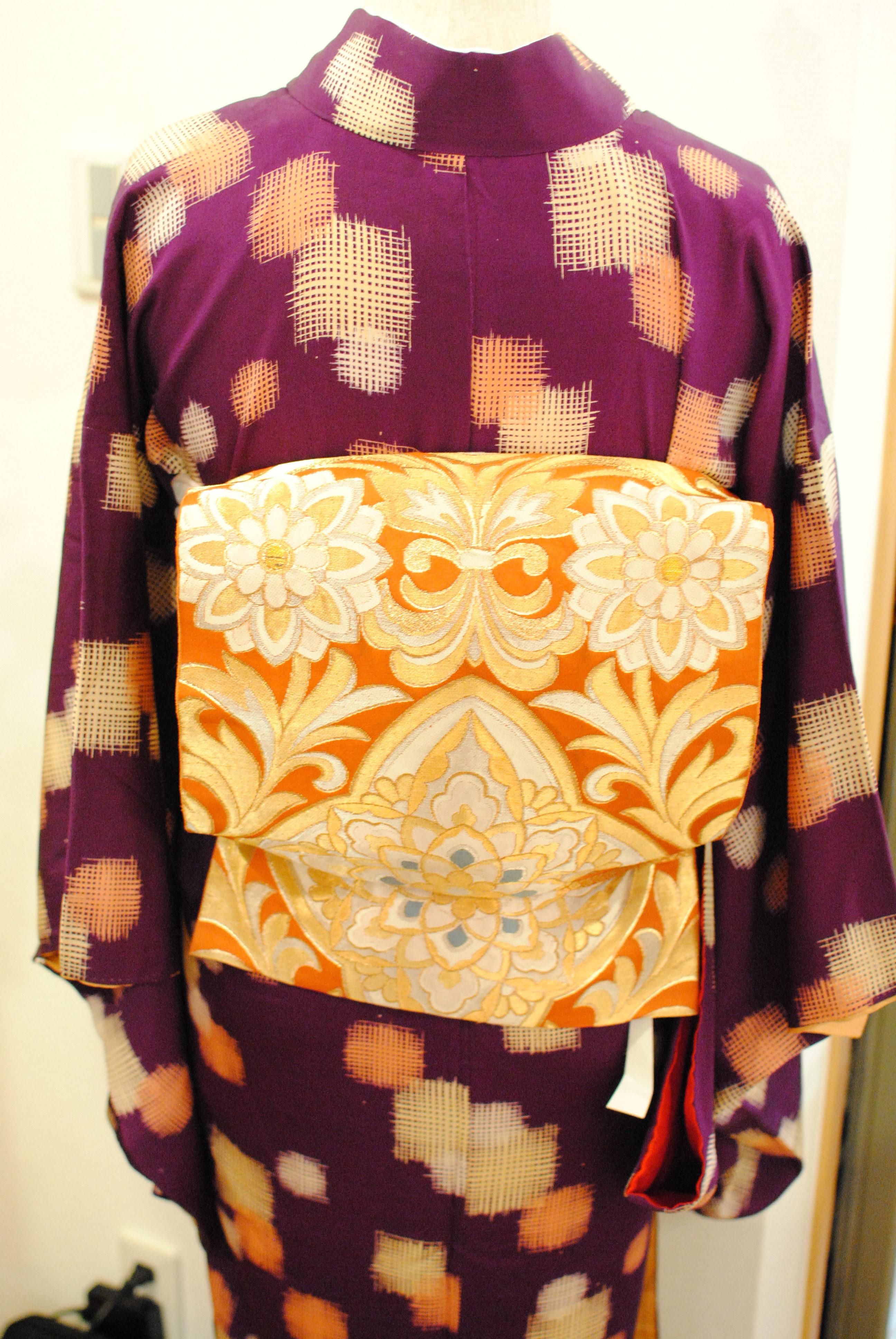 vintage Kimono set